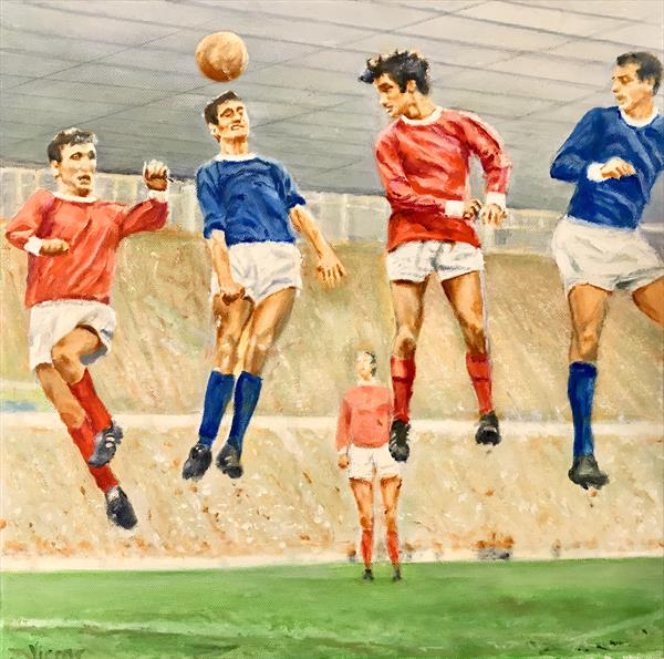 Old Trafford Greats by Victor White