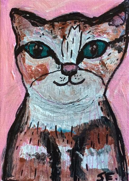 Sparkly Cat by Jean Fitzhugh
