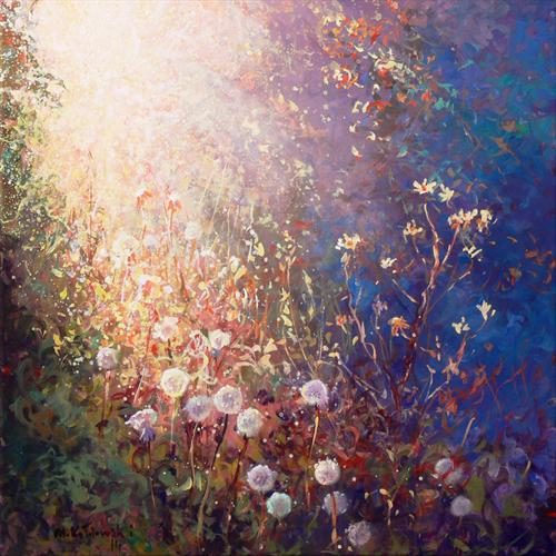 Evening Sun (On Display At the Art Gallery Tetbury) by Mariusz Kaldowski