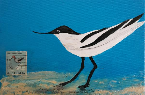 Avocet by Monica Griffith