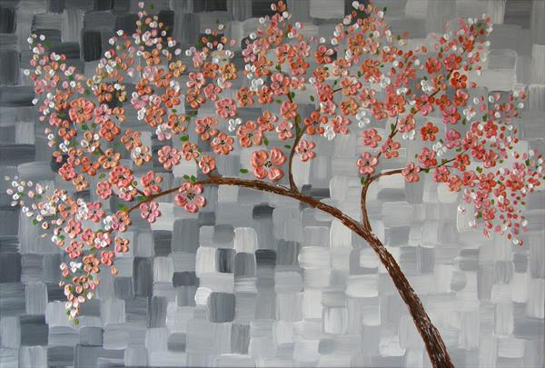 Blooming Cherry Tree by Maia Nikolov