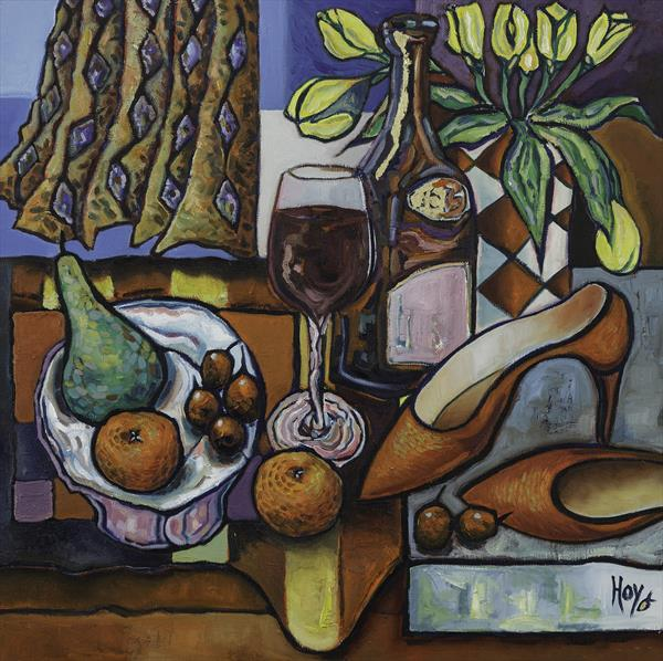Cherries and Red Shoes by Harry Grieve Hoy
