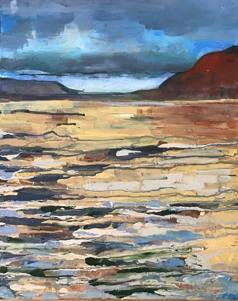 Orcombe Point Come Rain or Shine by Lee Weeks