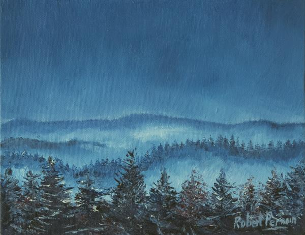 Blue Forest by Robert Permain