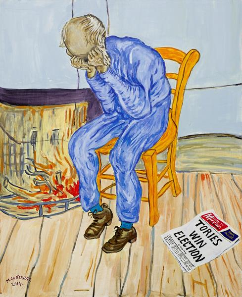 Election Result (After Van Gogh 'Threshold of Eternity') by Michael  Gutteridge