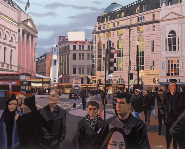 Piccadilly Circus (2012) by Malcolm Warrilow