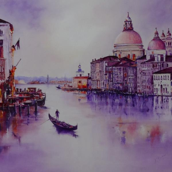 Venice 'The Grand Canal' by Mel Davies