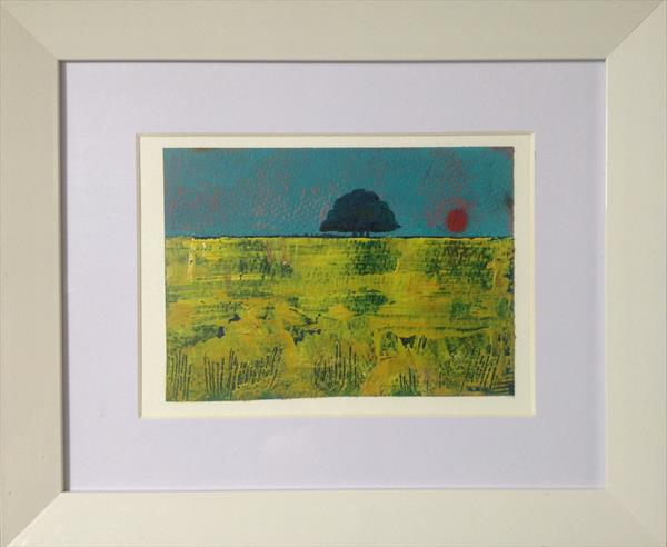 The Shimmering Summer ( framed original ) by Sarah Gill