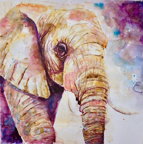 Elephant 'Majestic'  Large