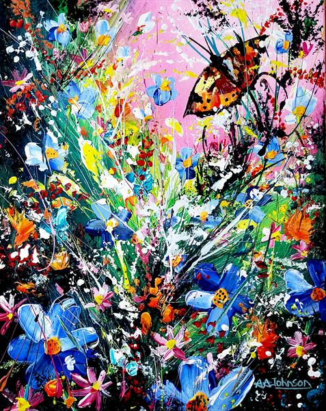 Butterfly Patch by Andrew Alan Johnson