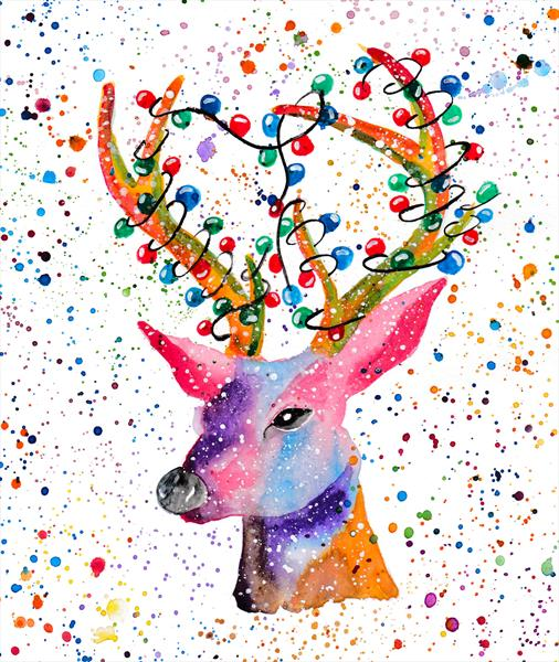 Stag by Andrea Clerkin