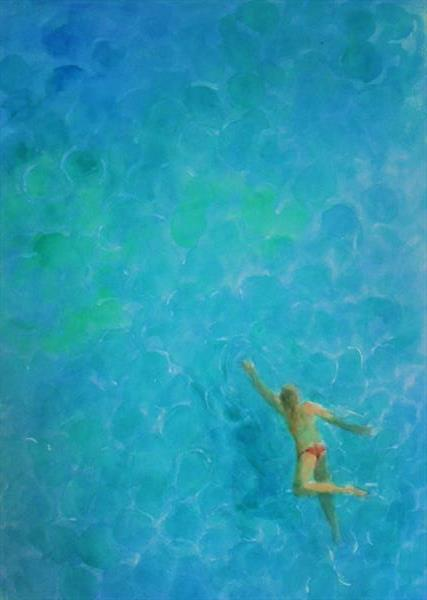 SWIMMING IN CLASSIC STYLE by John Davies
