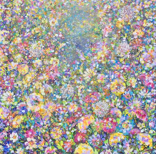 Flower Frenzy by Janice  Rogers