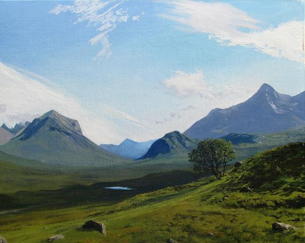 Glen Sligachan, Isle of Skye by Peter Brook