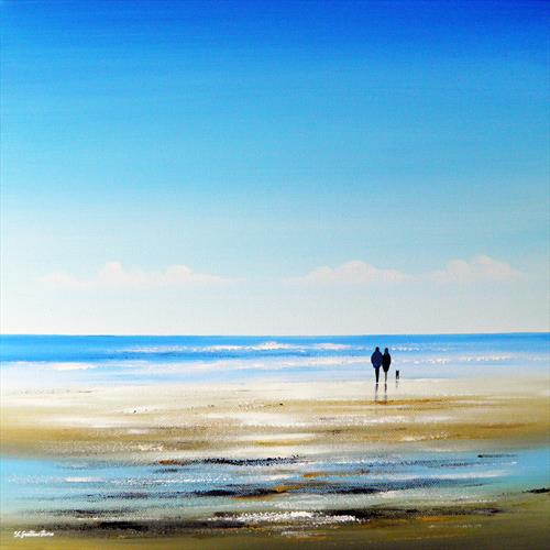 Our Beach Walk by Sarah Featherstone