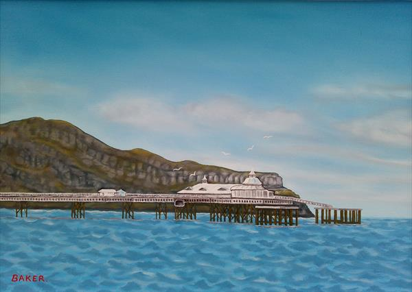 Llandudno - The Great Orme & Pier by Tommy Baker