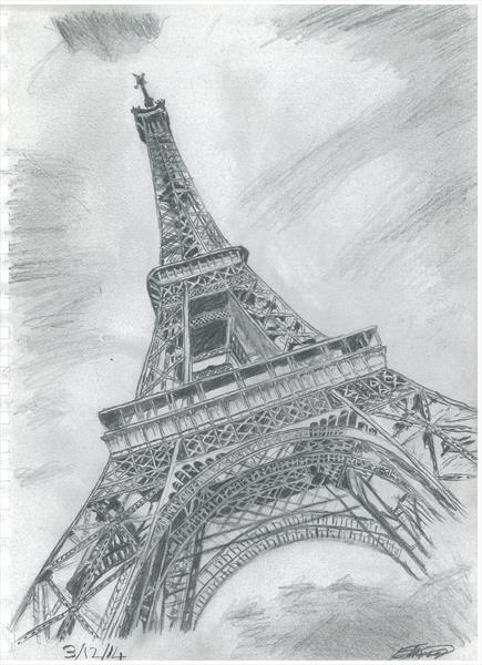 Eiffel Tower by Emmanuel Techie-Menson
