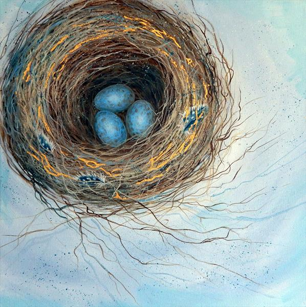 Blackbird's Nest  by Denise Coble