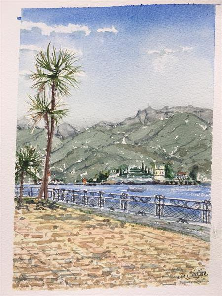 Isola Bela from Stresa by Peter Blake