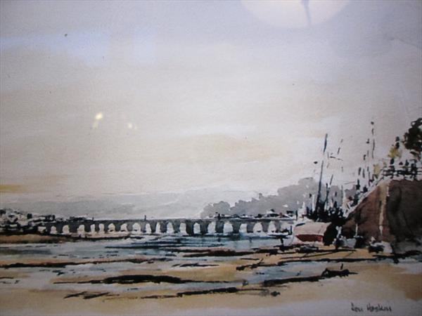 Bideford Long Bridge by Don Hoskin
