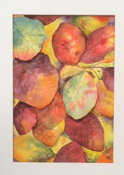 Autumn Leaves by Helen Templeton-cross