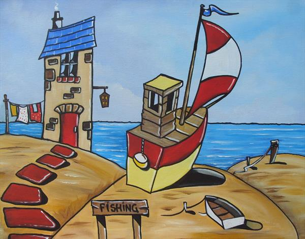 the fishermans house by Terry Wylde