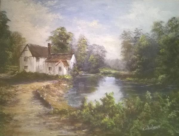 Willy Lott's Cottage by Colin Leach