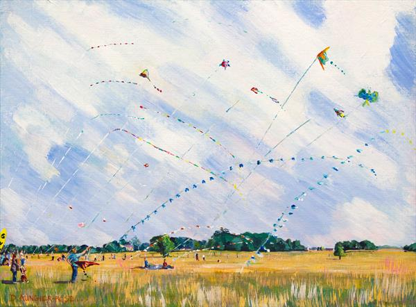 KITE DAY by Diana Aungier - Rose