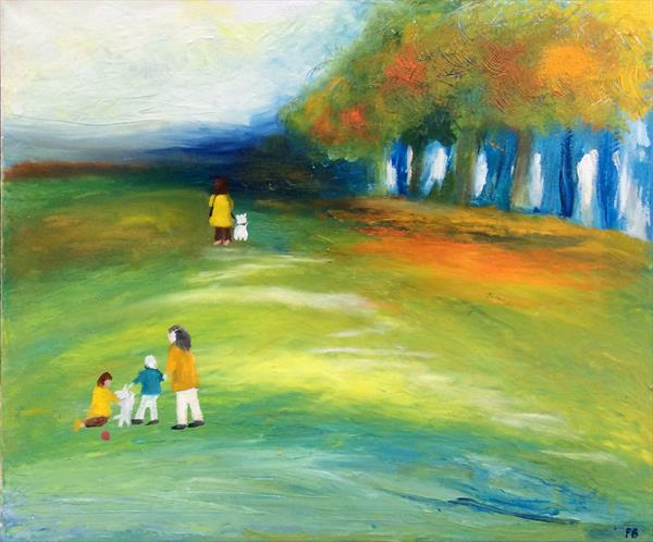 A Walk in the Park by Patricia  Breakell