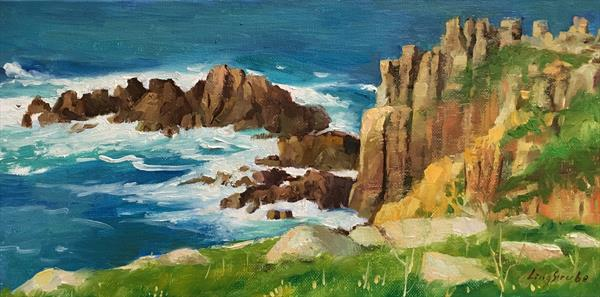 Land's End - Southern England by Ling Strube