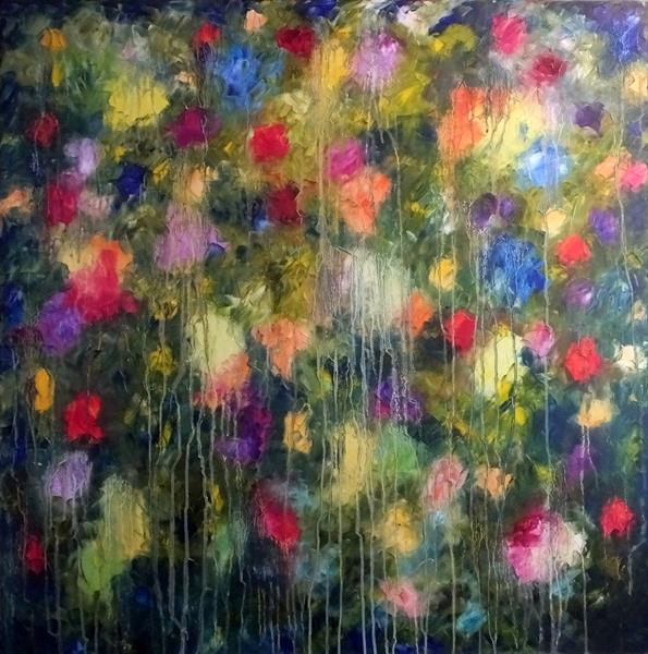 Capture The Essence (Very Large Square) by Hester Coetzee