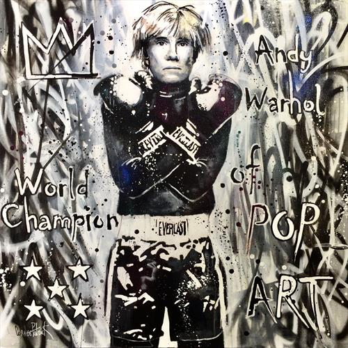 Andy Warhol, world champion of pop art by Patrick Cornee