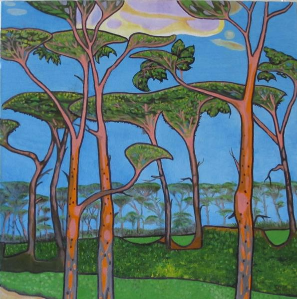 Pyrford Pines by Sinclair Webster