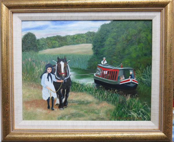A Day at the Canal by Trevor Holman