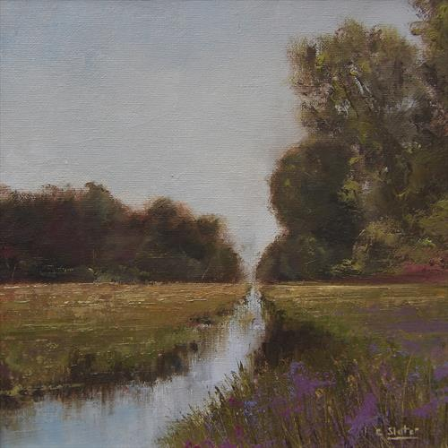Stream of tranquillity by Colin Slater