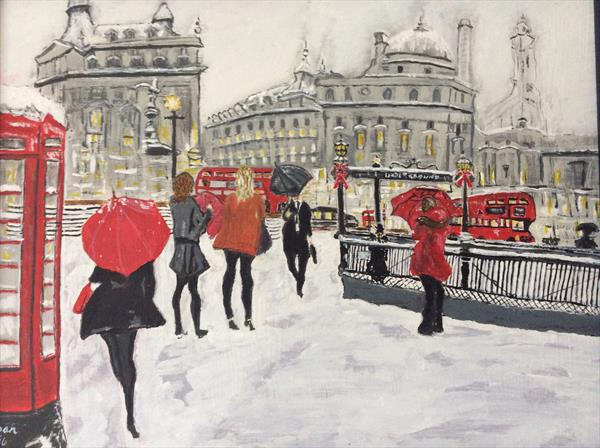 Piccadilly London by Bryn Thomas