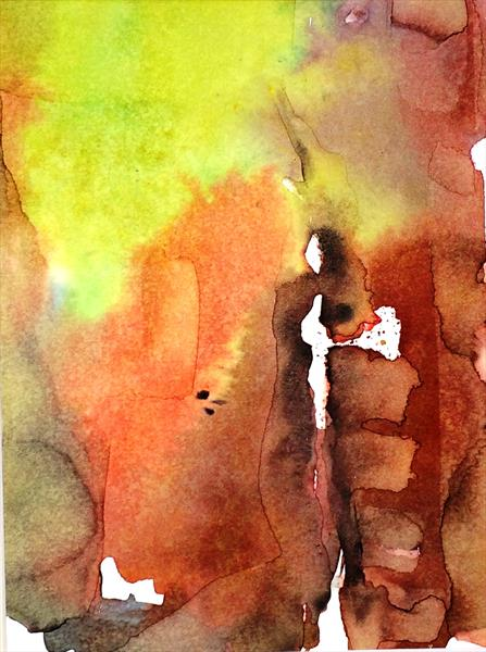 Misty Watercolour Memories V by Maxine Martin