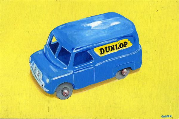 Matchbox Bedford Van by David Gander