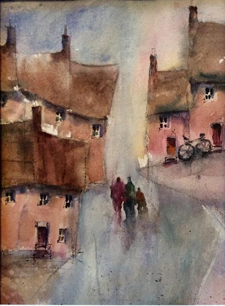 Rainy Day in Wales by Roma Mountjoy