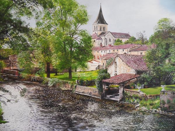 Vertuil, France by Philip Smith