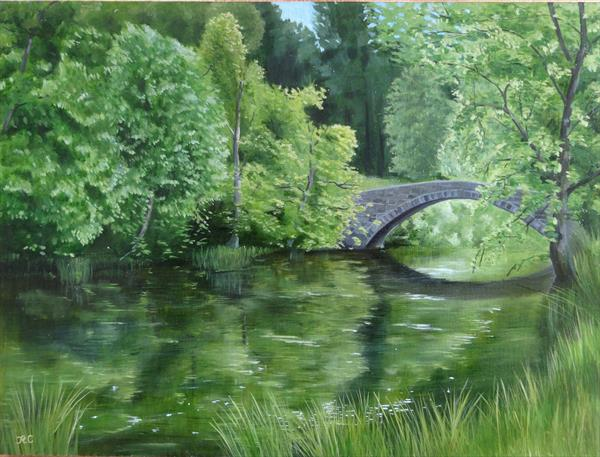 River Reflections by Roger Carrington