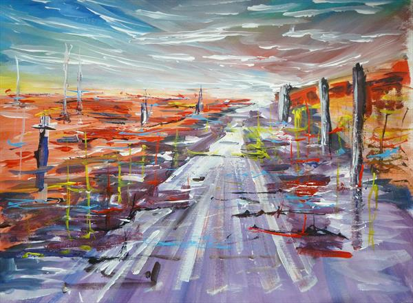THIS IS THE ROAD TO NOWHERE by Gill Michael