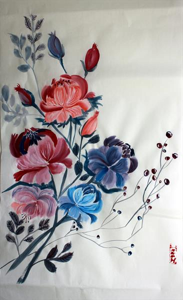 Peonies (Chinese painting)