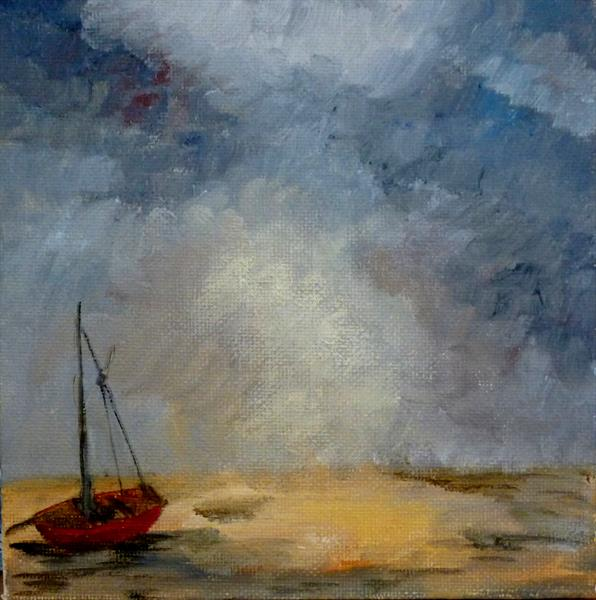 Red Boat by Maddalena Pacini