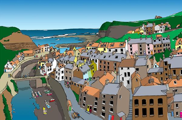 Staithes by Nick Sellers