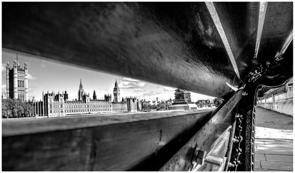 Westminster through the Bench by Paul Milton