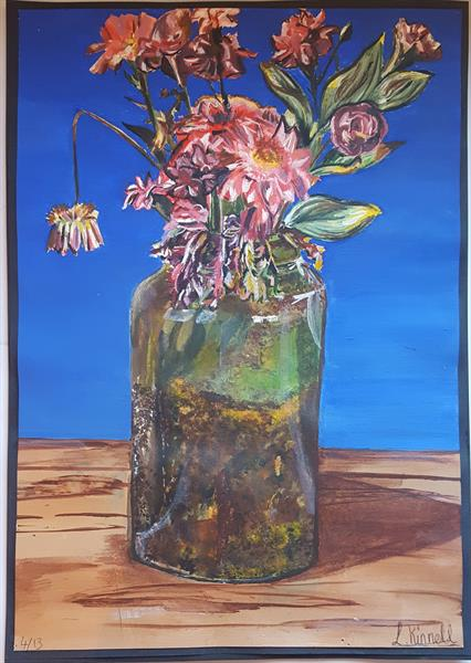 DYING FLOWERS by Laura Kinnell