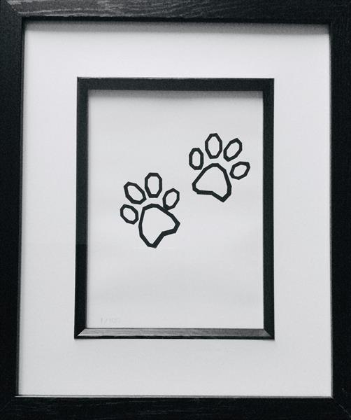 Paw prints by sharon coles