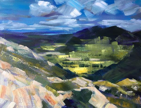 Lake District View by Susan Clare