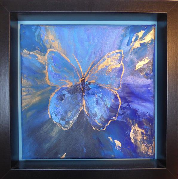 Blue Butterfly by Elaine Allender